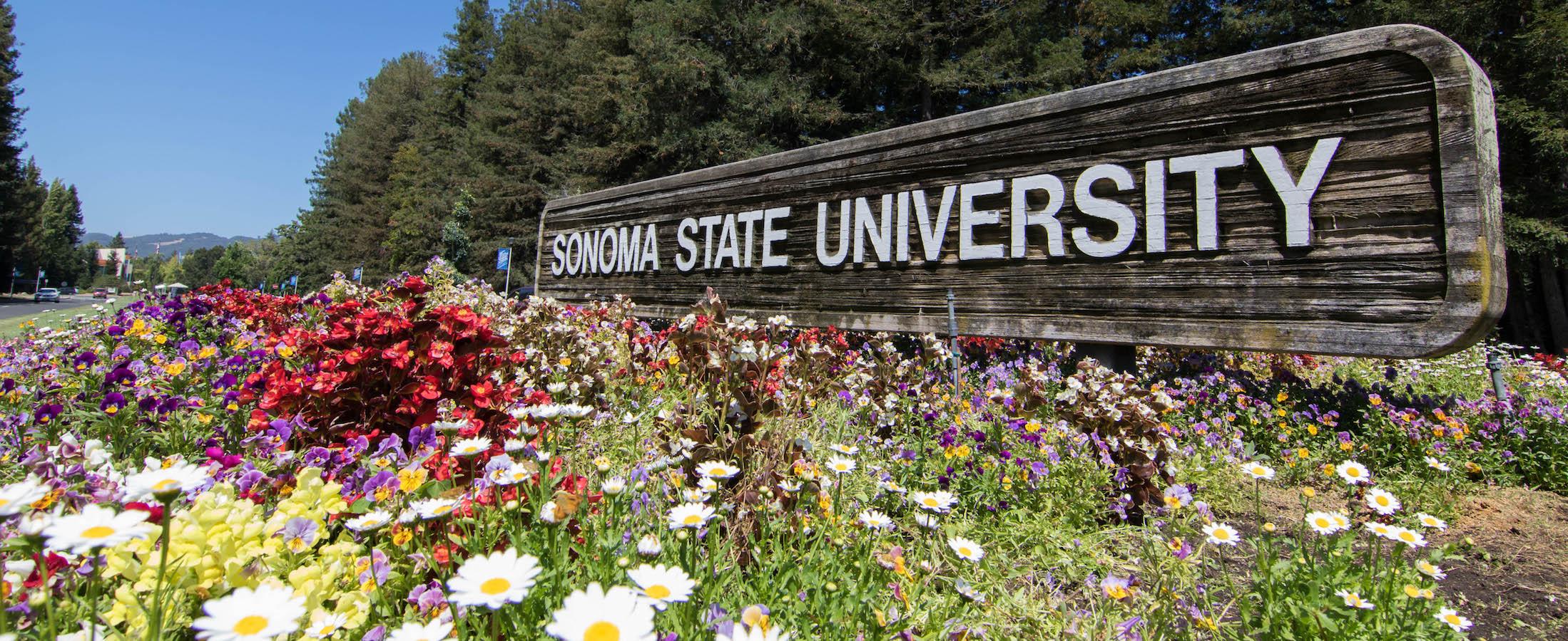 Sonoma Entrance Sign
